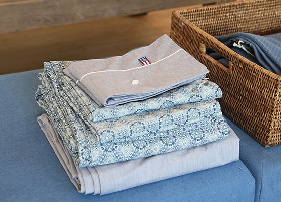 Découvrez nos linges de maison : draps, serviettes ...