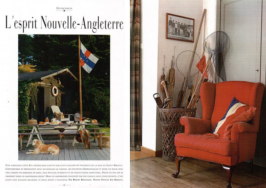 Le Grand Orme parution dans le magazine Côté Ouest