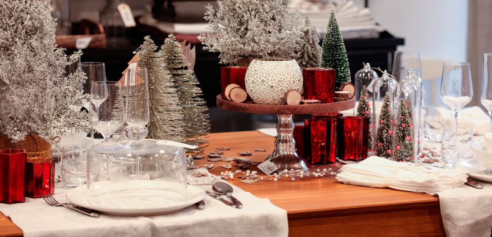 decorations table de noel