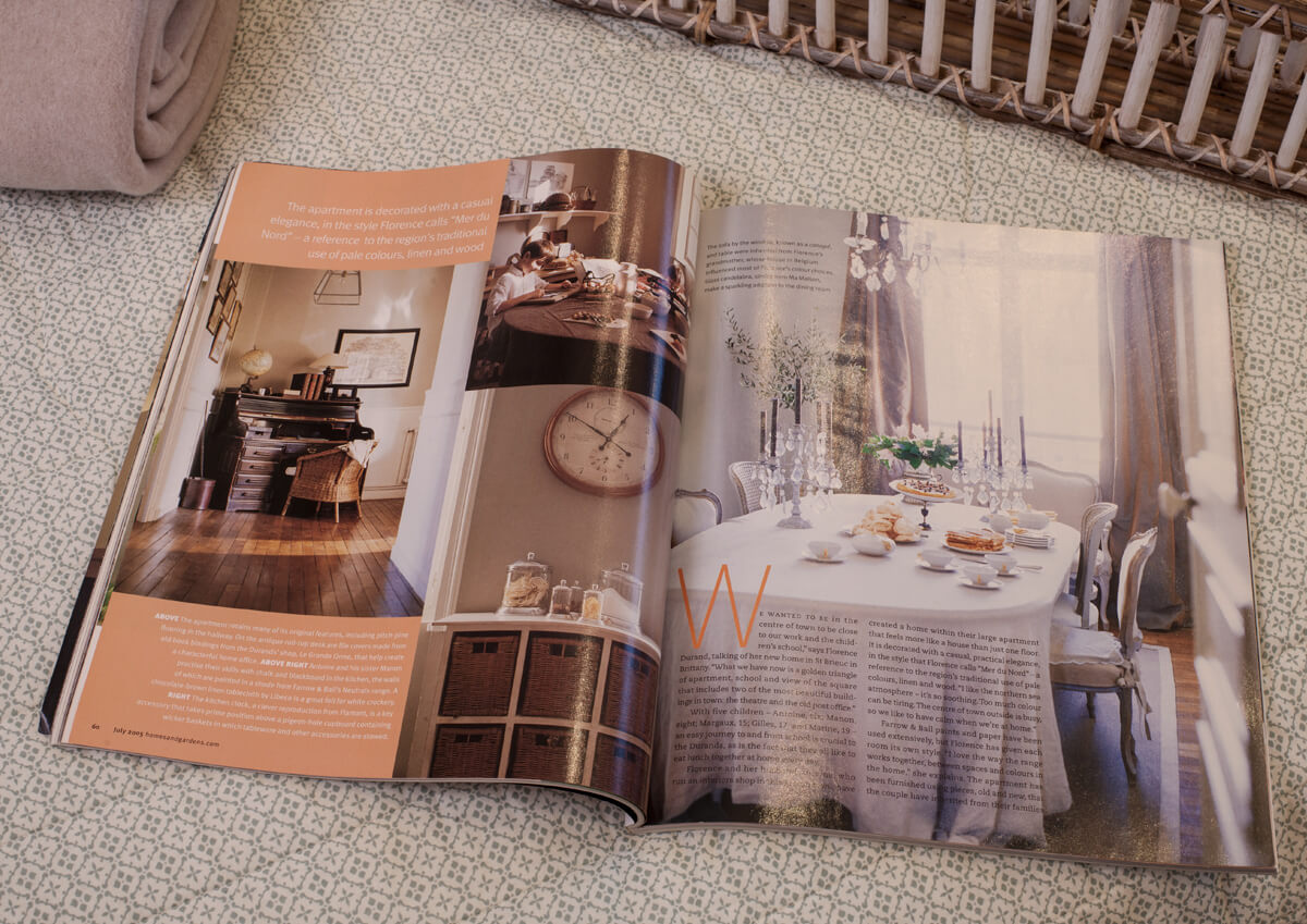le grand orme reportage presse homes and gardens