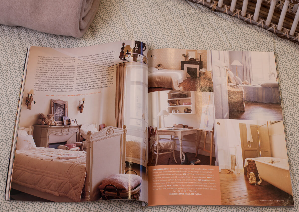 le grand orme article presse homes and gardens