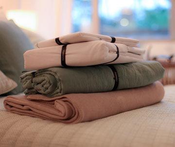 linge de lit et mainson