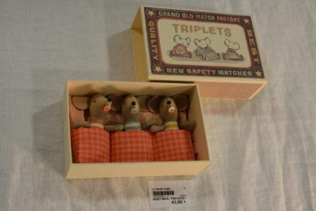 Baby Mice Triplets